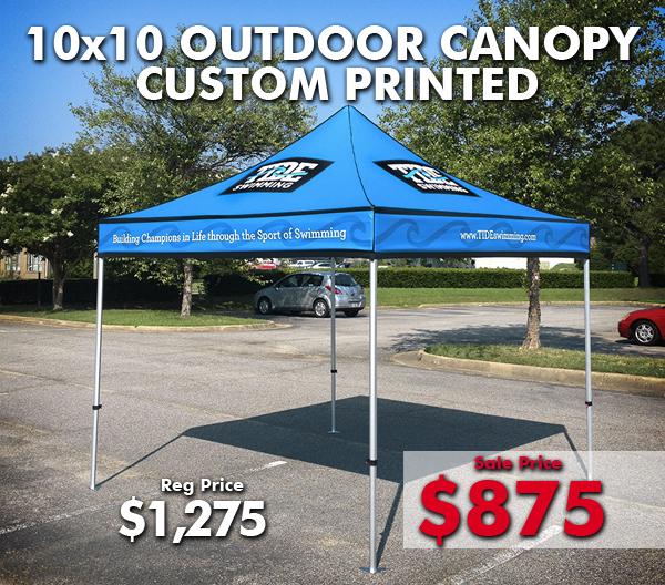 Custom Printed Canopy & Los Angeles Printing Services | Custom Printed Canopy
